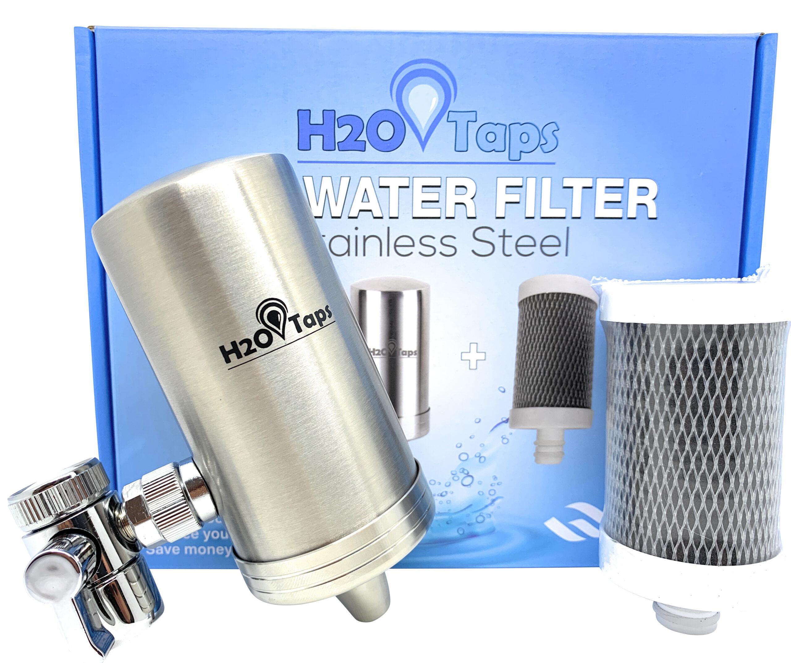 Los filtros de agua de H2O Taps